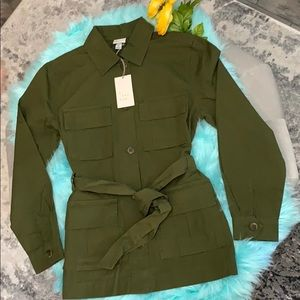 NEW! A New Day Olive Utility Jacket XS